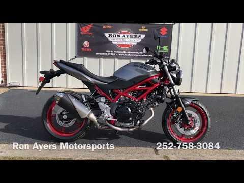 2019 Suzuki SV650 in Greenville, North Carolina - Video 1