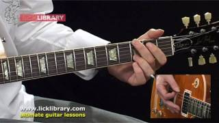 How To  Play Aerosmith Cryin Guitar Lesson with Michael Casswell Licklibrary