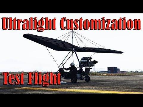 Gta 5 Online | Ultralight - Smuggler Run DLC - Customization and Test Drive