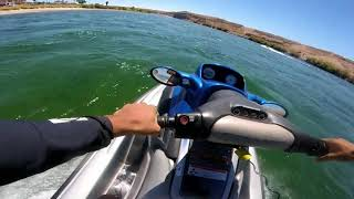 How to ride a jet ski!!