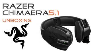 RAZER Chimaera 5.1 Gaming Headset - Unboxing - Xbox360 HD DE