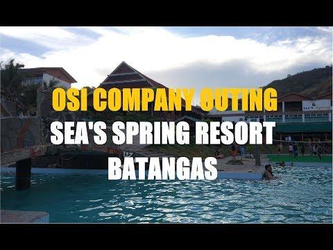 Sea Spring Resort, Anilao Mabini Batangas Company Outing (Part 1)