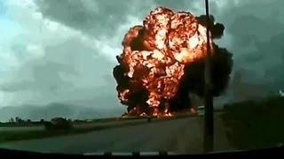 preview picture of video 'Plane crash in Bagram airfield, Afghanistan (Afganistan'da yere çakilan uçak)'