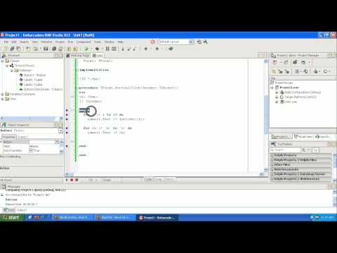 Learning to Program Delphi Tutorial Looping – for and while