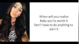You're Worth It - Cimorelli (lyrics)