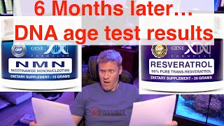 Does NMN & Resveratrol actually slow again? | Biological DNA Age Testing Part 2