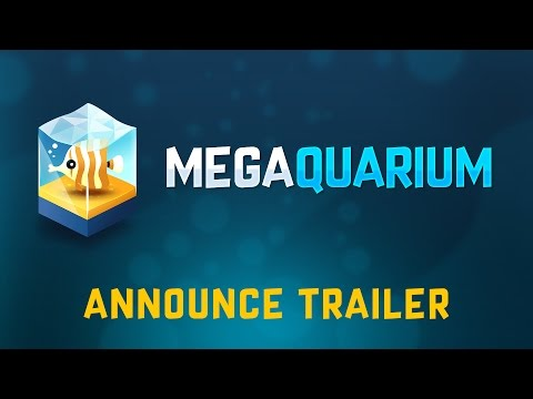 Megaquarium: Announcement Trailer thumbnail