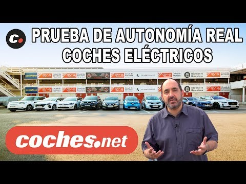 Coches Eléctricos 2018 | Prueba de Autonomía REAL | Comparativa / Test / Review | coches.net