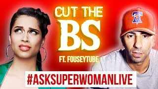 I'M LIVE ON YOUTUBE RIGHT NOW And I have a special guest: FouseyTUBE Come join us
