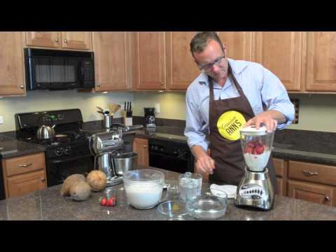 Video Strawberry Coconut Milk Ice Cream