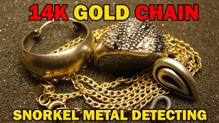 GOLD CHAIN BABY - snorkel metal detecting