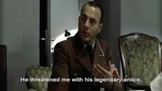 Speer begs for Hitler's forgiveness for passing Blondie off to Himmler