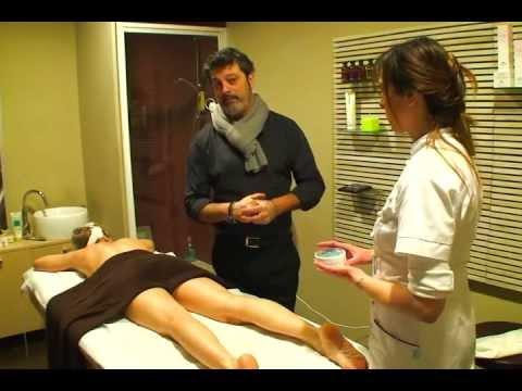 Trattamento della colonna vertebrale in zona centrale