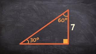 How To Use Special Right Triangles To Find Missing Lengths