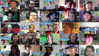 RWBY Chibi Episode 10 (All the Ships!!) - Mega Reaction Mashup (1k Subscriber Special)