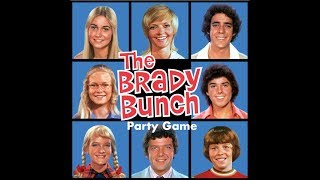 Bower's Game Corner: The Brady Bunch Party Game Review