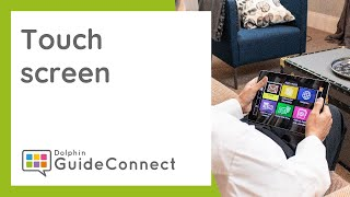 How to use GuideConnect - With the Touchscreen