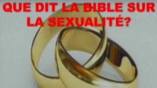 QUE DIT LA BIBLE SUR LA SEXUALITÉ ? 1/2