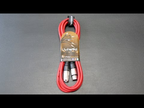 VisioSound 3m XLR To XLR Lead Cable (Red) [Vorstellung]