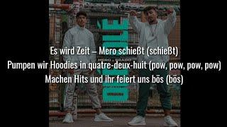 MERO Feat. BRADO   OLÉ OLÉ (Official HQ Lyrics) (Text)