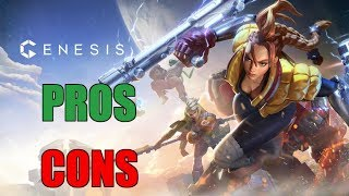 New PS4 MOBA Genesis   Pros And Cons