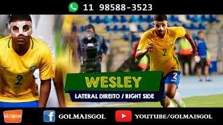 Wesley David De Oliveira Andrade - Lateral Direito - Www.golmaisgol.com.br - SELEÇÃO