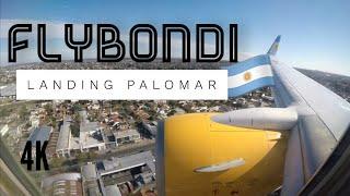 Landing Palomar Flybondi. FO 5241.