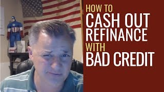 How to Refinance and Cash Out with Bad Credit | Mentorship Monday 100