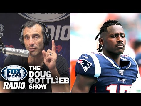 Doug Gottlieb Predicts Antonio Brown Will Never Play in the NFL Again