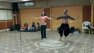 Boy vs Girl Belly dancing Video