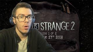 OMGGG THIS LOOKS EPIC! | Life Is Strange 2 Trailer (Reaction video)