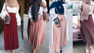 Maxi SKIRT Hijab Lookbook 2020😍 || Maxi Skirt DRESSES  || LONG Skirt With HIJAB ||hijabmicorona