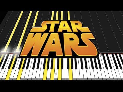 Download Star Wars Medley [Piano Tutorial] (Synthesia) // David Kaylor HD Video