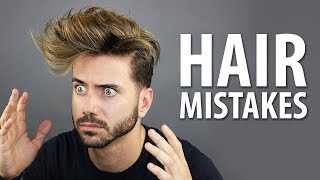 5 MOST COMMON HAIRSTYLING MISTAKES MEN MAKE   Healthy Hair Tips for Men   Alex Costa