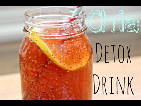 Video Healthy Chia Seed Detox Drink - How To & Recipe