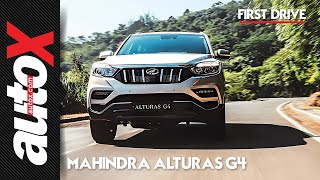 Mahindra Alturas G4 First Drive Video Review