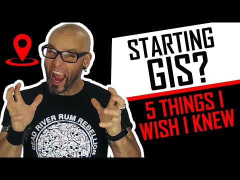 GIS IS Awesome! But I wish I knew these 5 things before I started learning it.