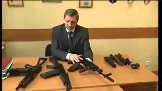 Оружие пятого поколения России.Калашников представил новый автомат АК 12.