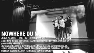 Say It, Don't Spray It! Nowhere du Nord by Miriam Cusson - June 26 at 8:30 PM