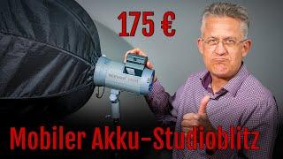 Neewer mobiler Akku-Studioblitz Vision 4 mit Li-Ionen-Akku – Test – Review [Deutsch]