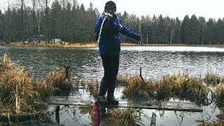 Заброс с мультипликатором рыбалка по лугански
