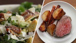Easy Three-Course Holiday Dinner For Beginner Cooks •Tasty