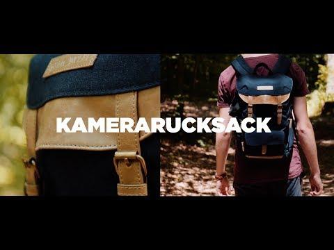 Vintage-Kamerarucksack für Systemkameras! - K&F Concept Kamerarucksack Review