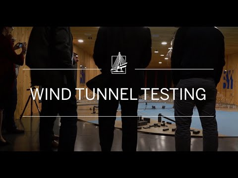 Gordie Howe International Bridge - Wind Tunnel Testing