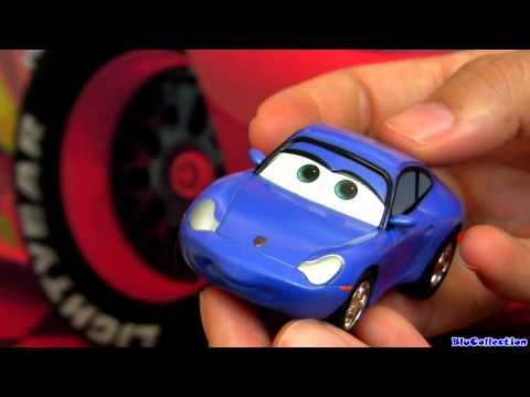 Sally Carrera Go CARS 2 Slot Car Disney Pixar  Toy review by Blucollection