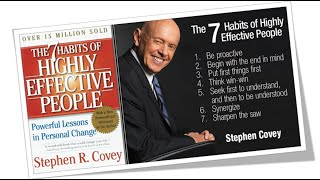 THE 7 HABITS OF HIGHLY EFFECTIVE PEOPLE BY STEPHEN COVEY   ANIMATED BOOK SUMMARY