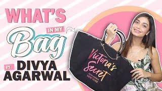 What's In My Bag With Divya Agarwal | Bag Secrets Revealed