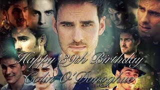 Happy 39th Birthday Colin ODonoghue!