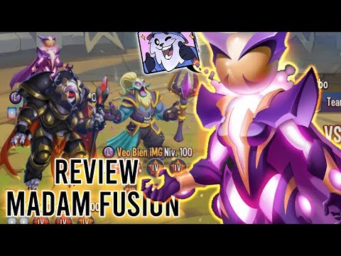 MADAM FUSION con WARMASTERS! - Monster Legends Review