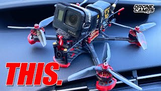 WICKED FREESTYLE + GPS! - HGLRC Sector 5 V3 Fpv Drone - REVIEW & FLIGHTS
